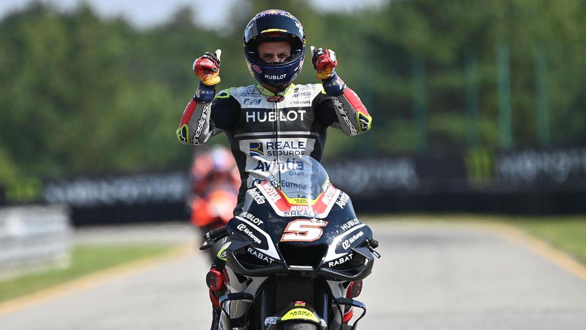 Johann Zarco (Ducati Avintia) après le Grand Prix de République tchèque, le 9 août 2020