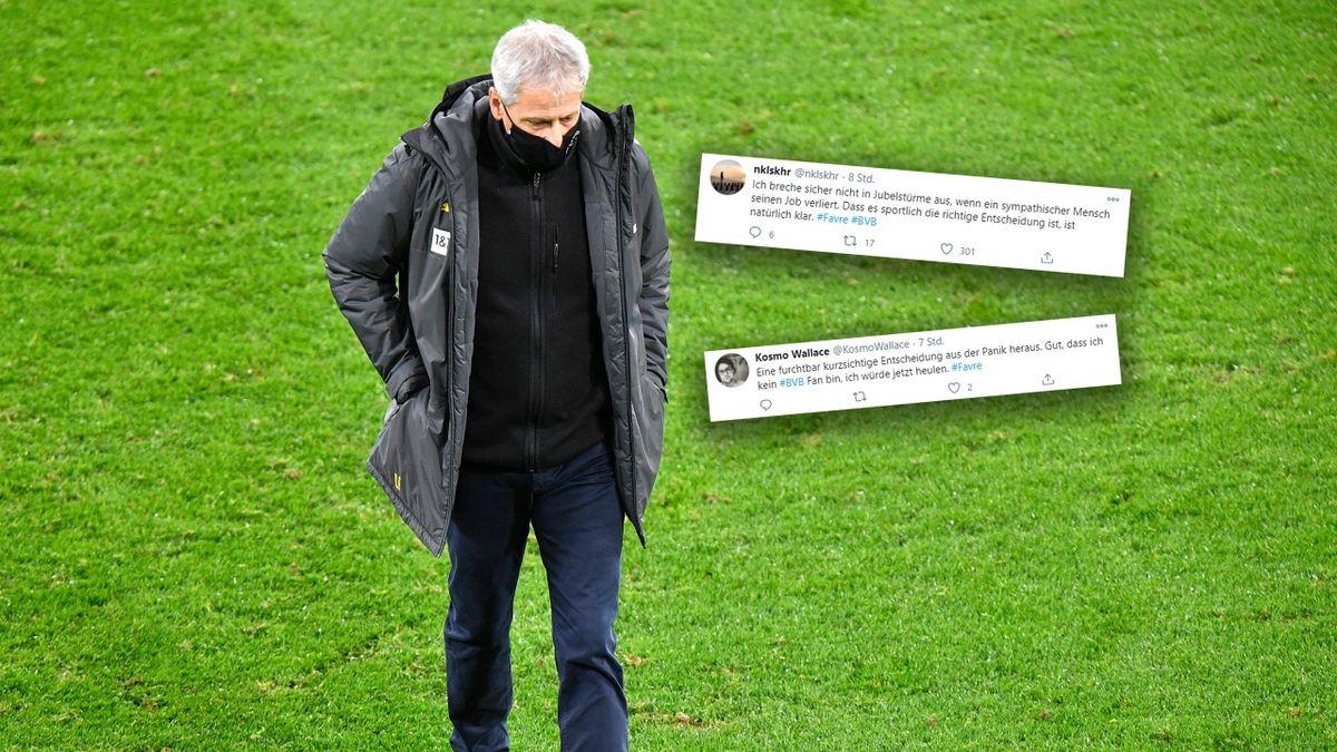 Lucien Favre muss beim BVB gehen