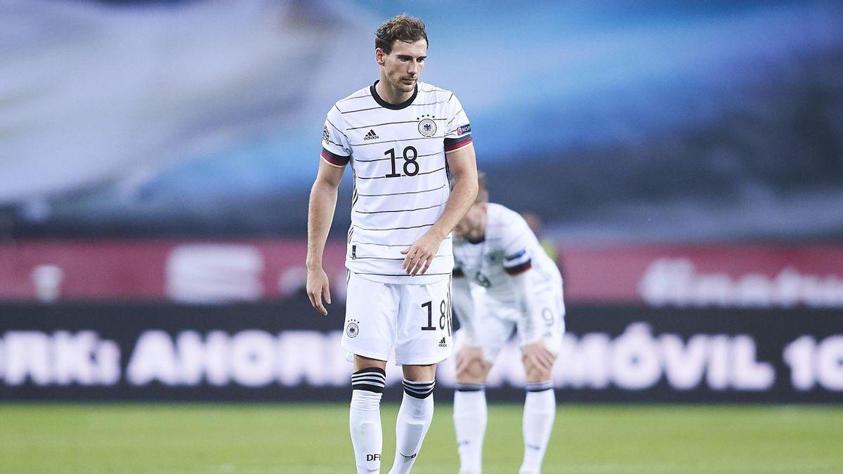 Leon Goretzka wird wahrscheinlich für das erste EM-Spiel gegen Frankreich ausfallen