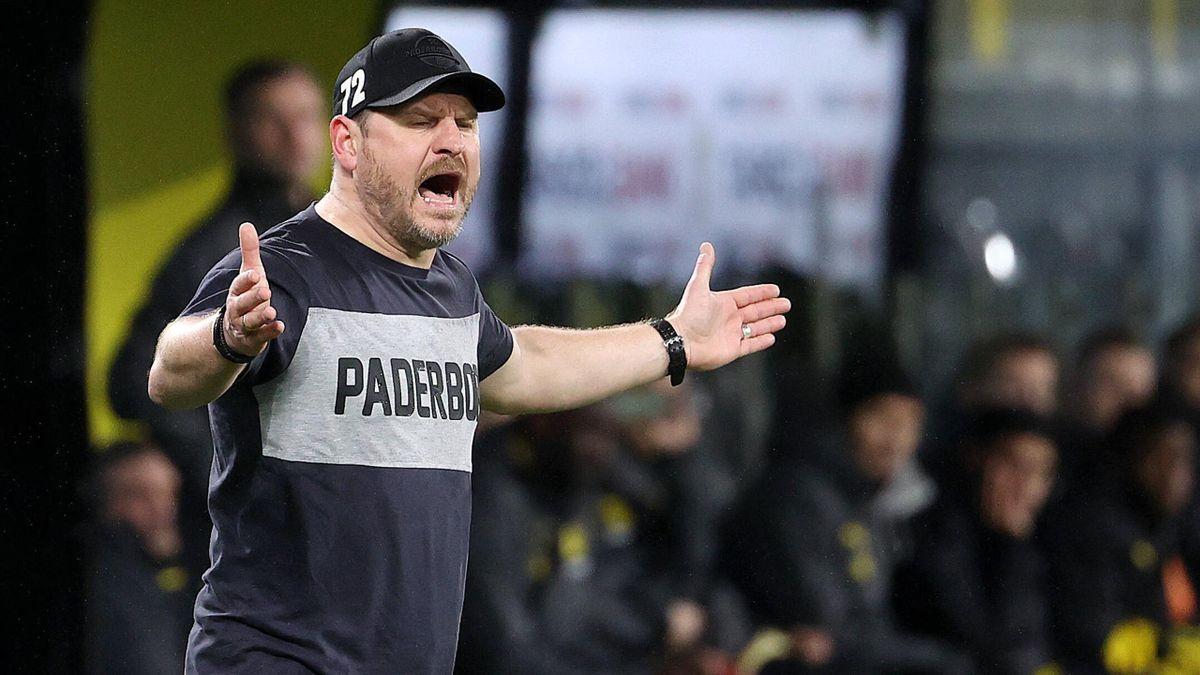 Steffen Baumgart (Trainer SC Paderborn)