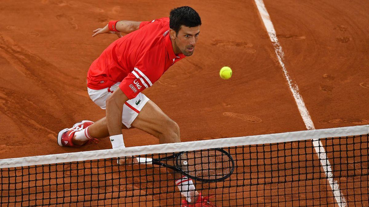 Novak Djokovic bei den French Open 2021