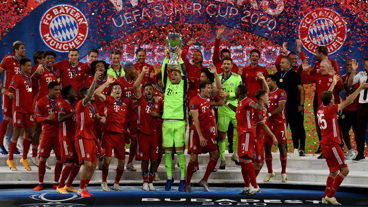 Der FC Bayern München gewinnt wie 2013 den UEFA Supercup