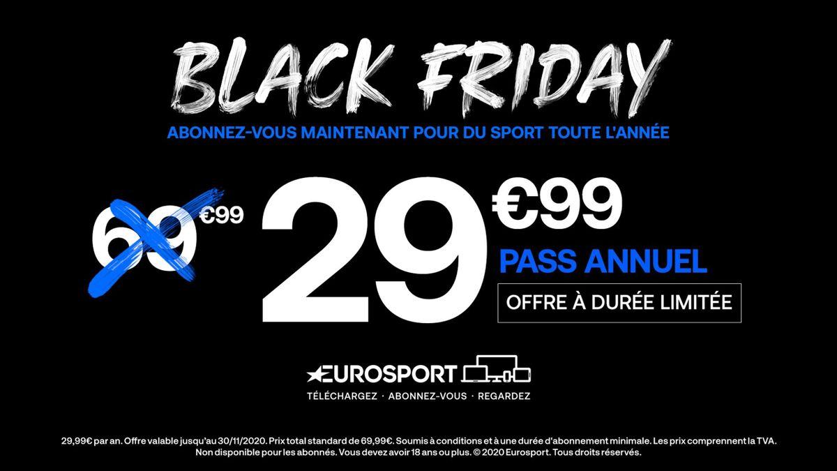 Black Friday sur Eurosport