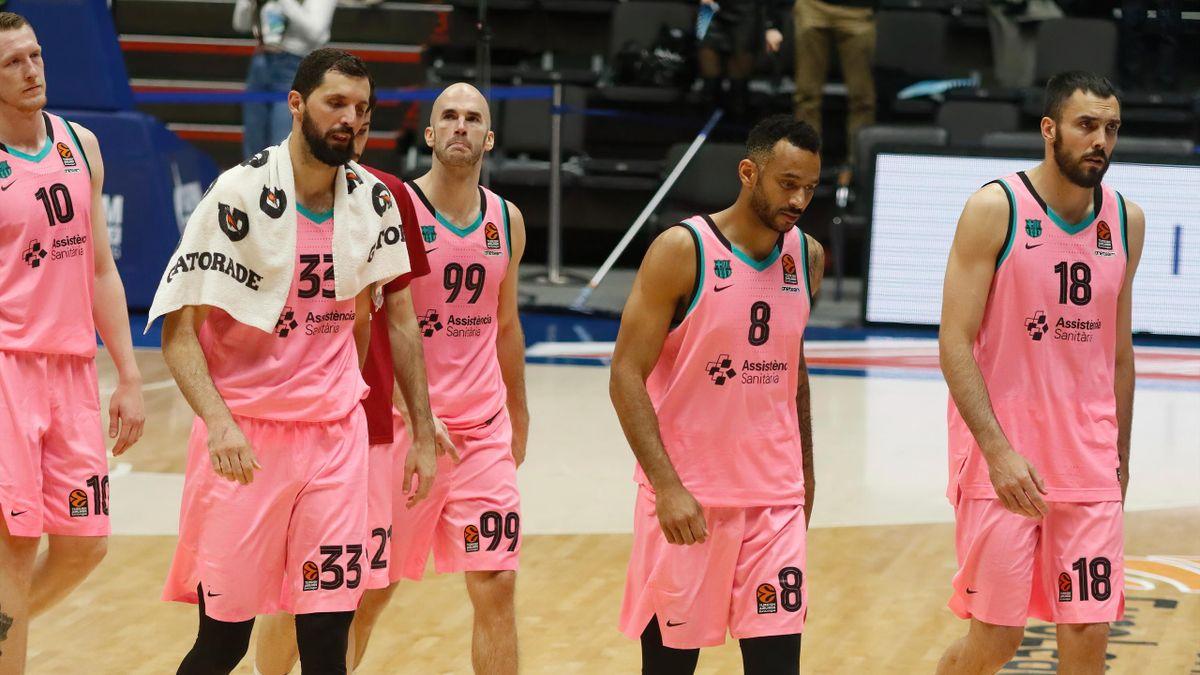 Баскетболисты «Барселоны»