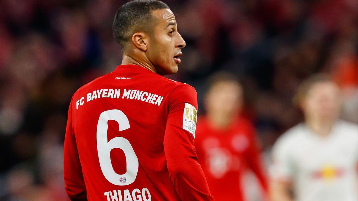 Thiago Alcantara, mijlocașul lui Bayern Munchen