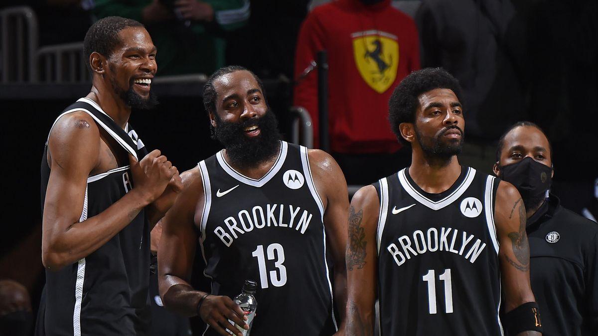 Durant, Harden e Irving: i Big Three dei Brooklyn Nets - NBA