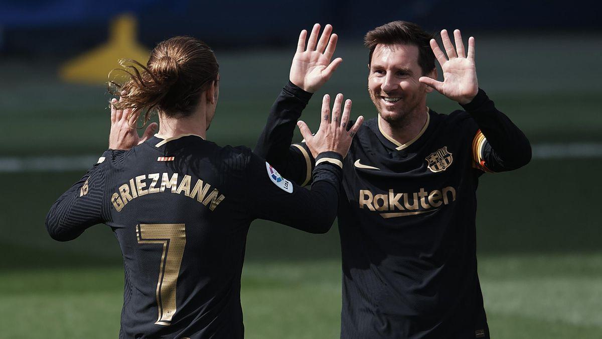 L'entente Messi-Griezmann, symbole d'un Barça qui va beaucoup mieux