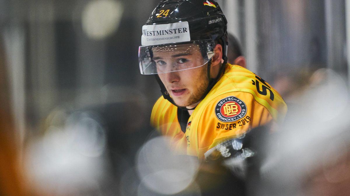 Eishockey-Nationalspieler Janik Möser