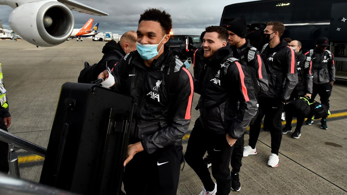 Liverpool travelled to Italy last week to play RB Leipzig
