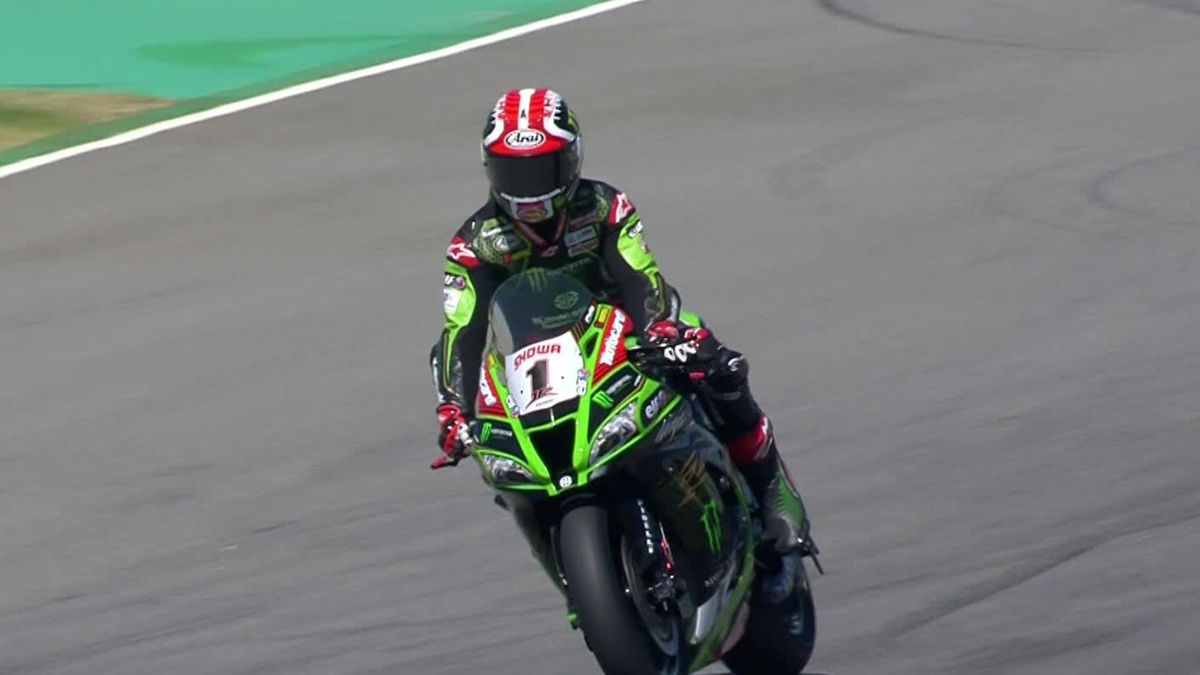 Superbike World Championship - Superpole - Rea for pole position