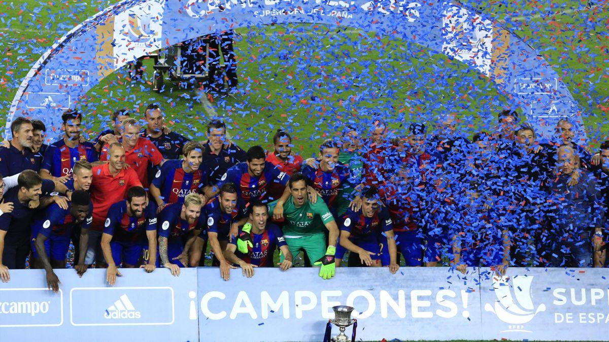Barcelona holte den Supercup gegen Sevilla