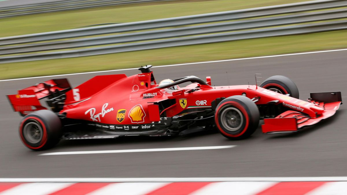 It Was Much Better Sebastian Vettel And Charles Leclerc See Ferrari Progress Eurosport