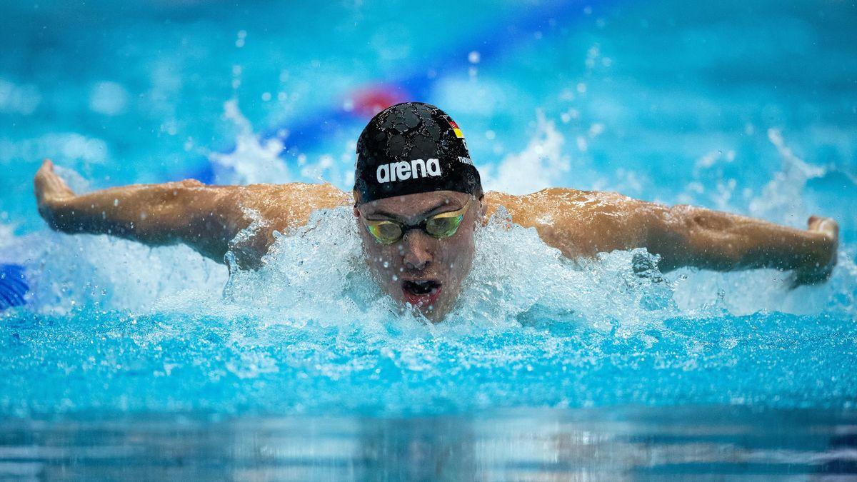David Thomasberger hat die Norm für die Olympischen Spiele in Tokio geknackt