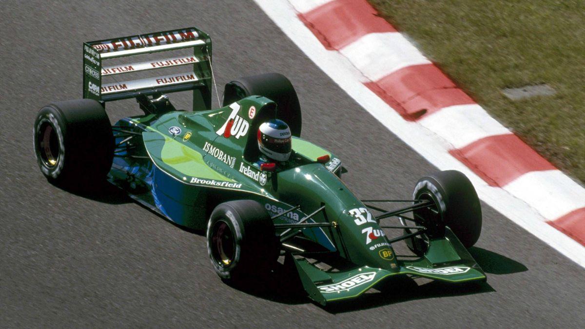Michael Schumacher (Jordan) - GP of Belgique 1991