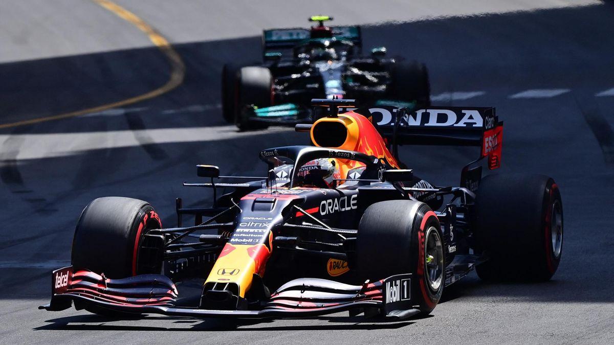 Verstappen leads in Monaco