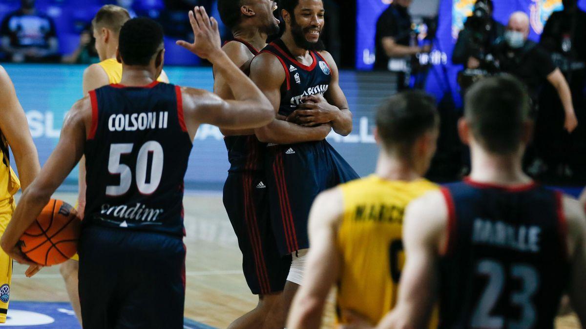 Strasbourg (basket) a réalisé l'exploit en Ligue des champions
