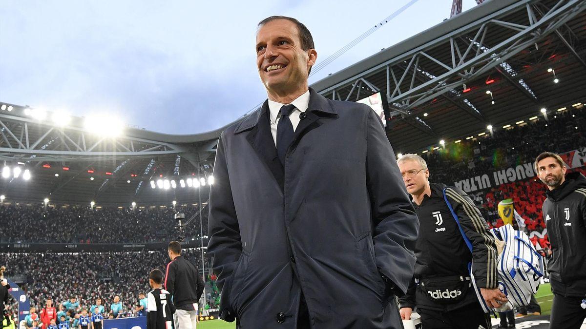 L'addio al calcio di Massimiliano Allegri, Juventus-Atalanta, Getty Images