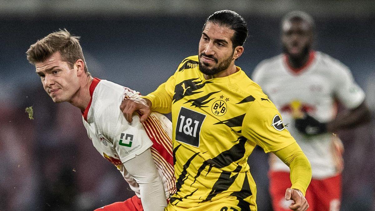 Emre Can (r.) von Borussia Dortmund
