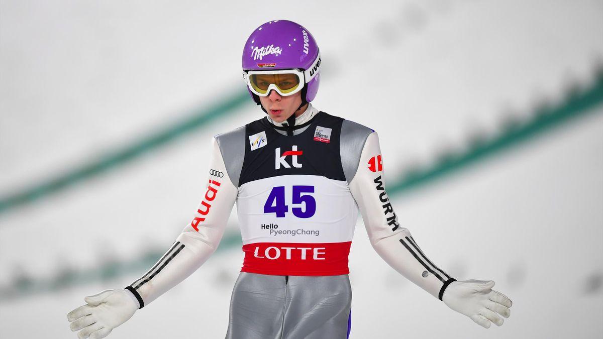 Kletterte von Platz 16 auf Platz drei: Andreas Wellinger