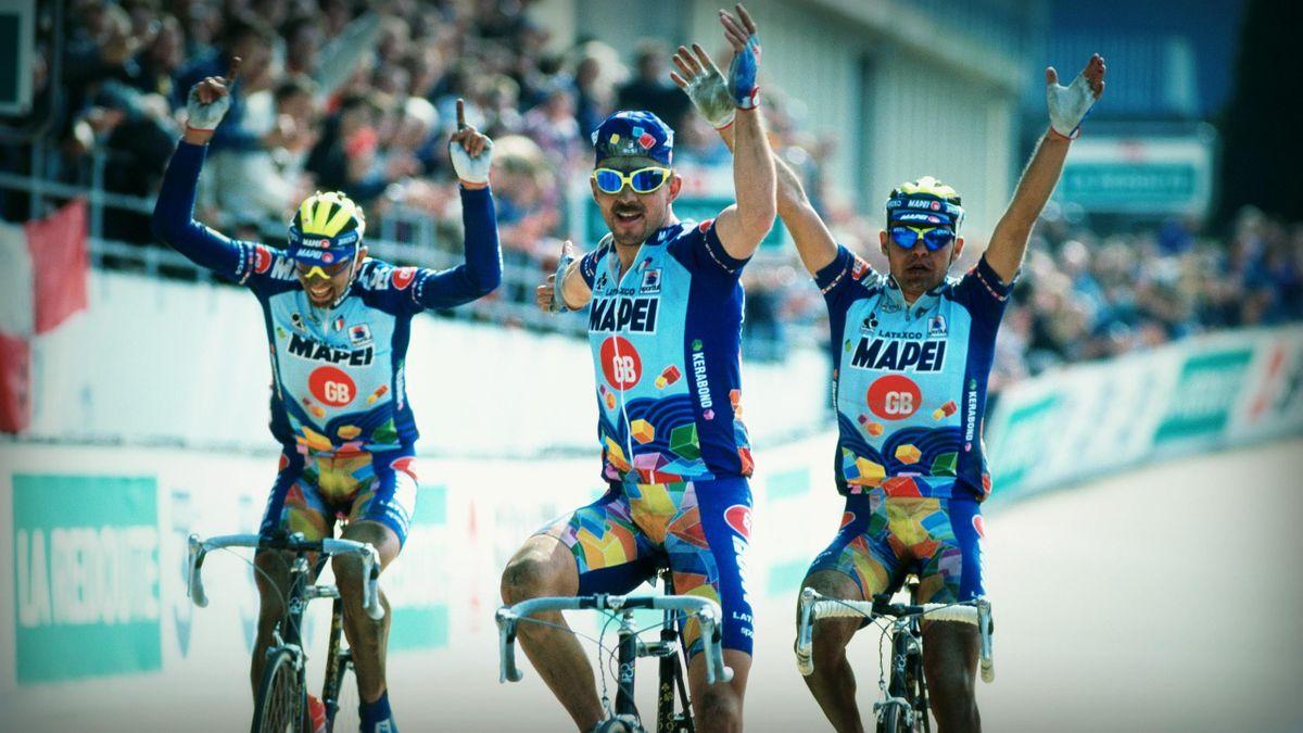 Paris-Roubaix 1996 : Le triomphe de la Mapei.