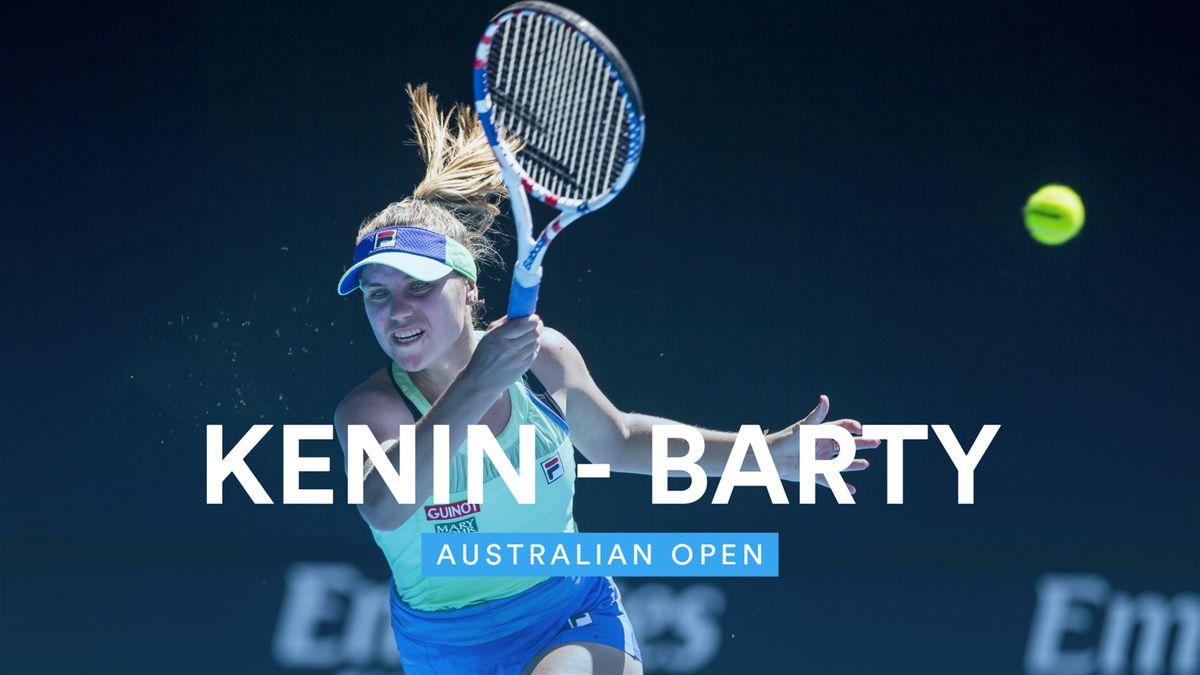Australian Open : Highlights - Kenin - Barty (VM)