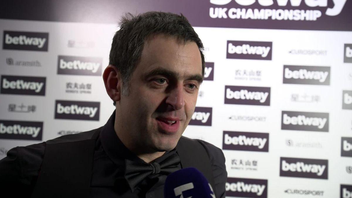 UK Championship : Ronnie O'Sullivan's interview after winning over Noppon Saengkham