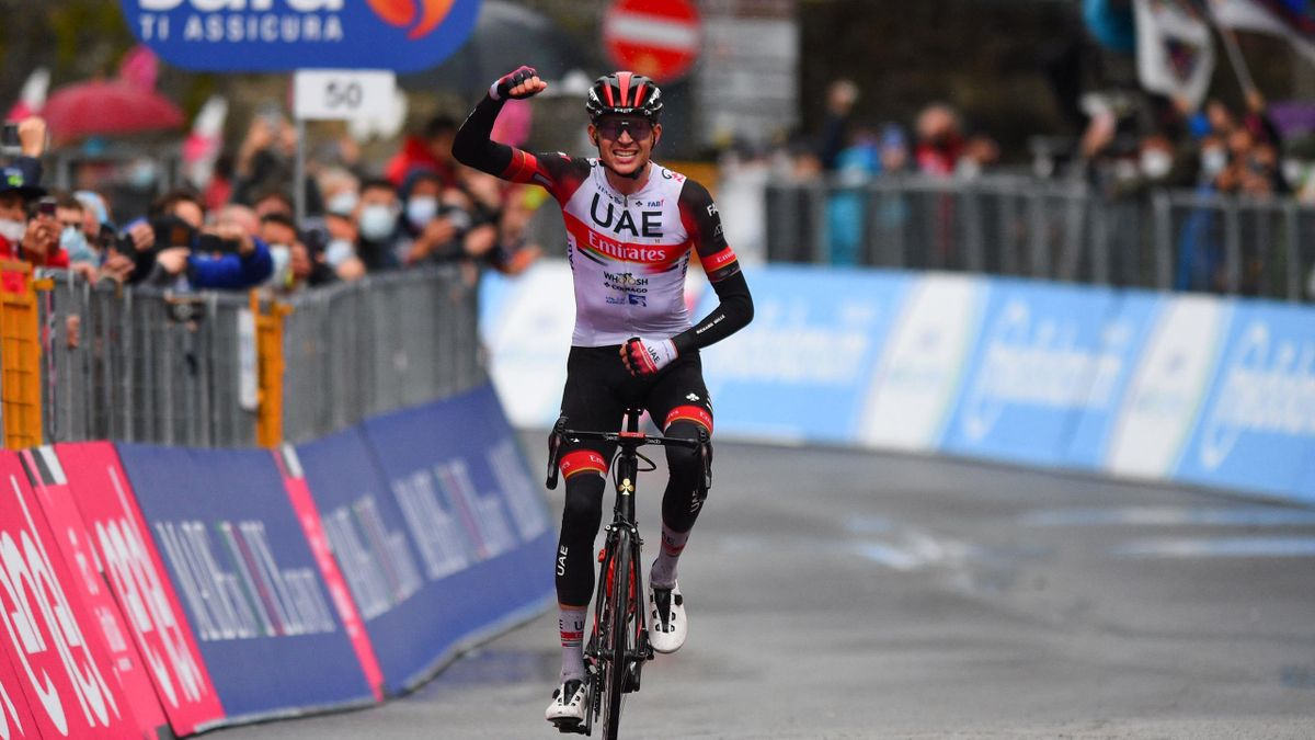 Highlights: GC favourites have late tussle in rain as Dombrowski triumphs
