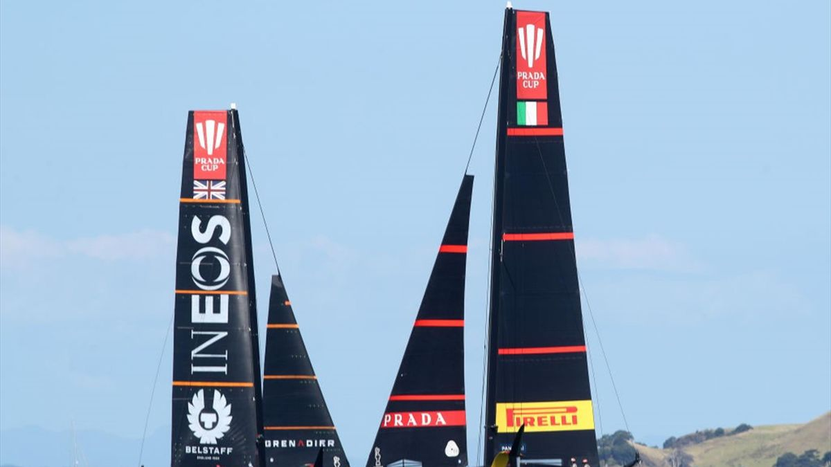 Luna Rossa vs Team Ineos