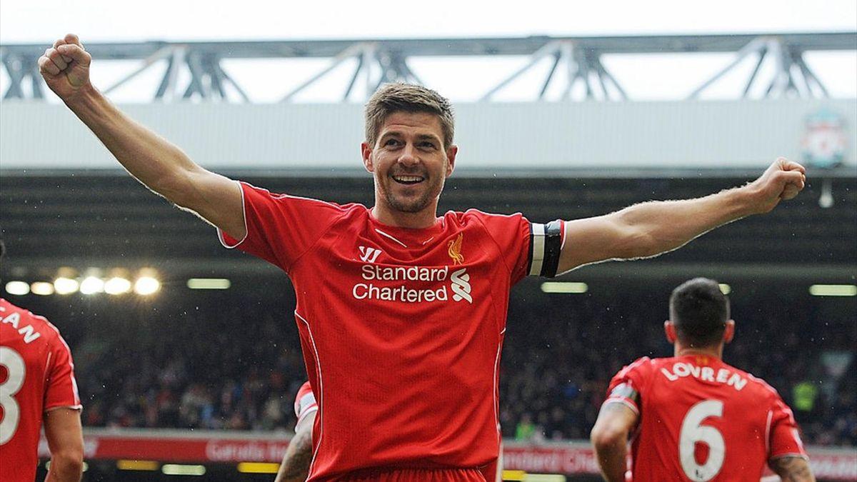 Steven Gerrard, legendarul căpitan al lui Liverpool