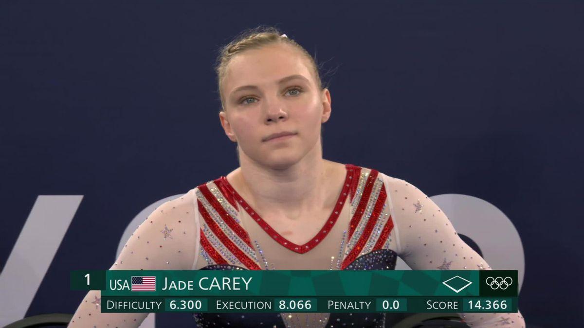 Jade Carey szerezte meg nőknél talajon az aranyérmet