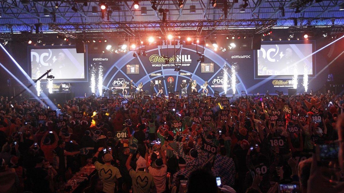 Eurosport 2 emitirá en exclusiva el campeonato del mundo de dardos
