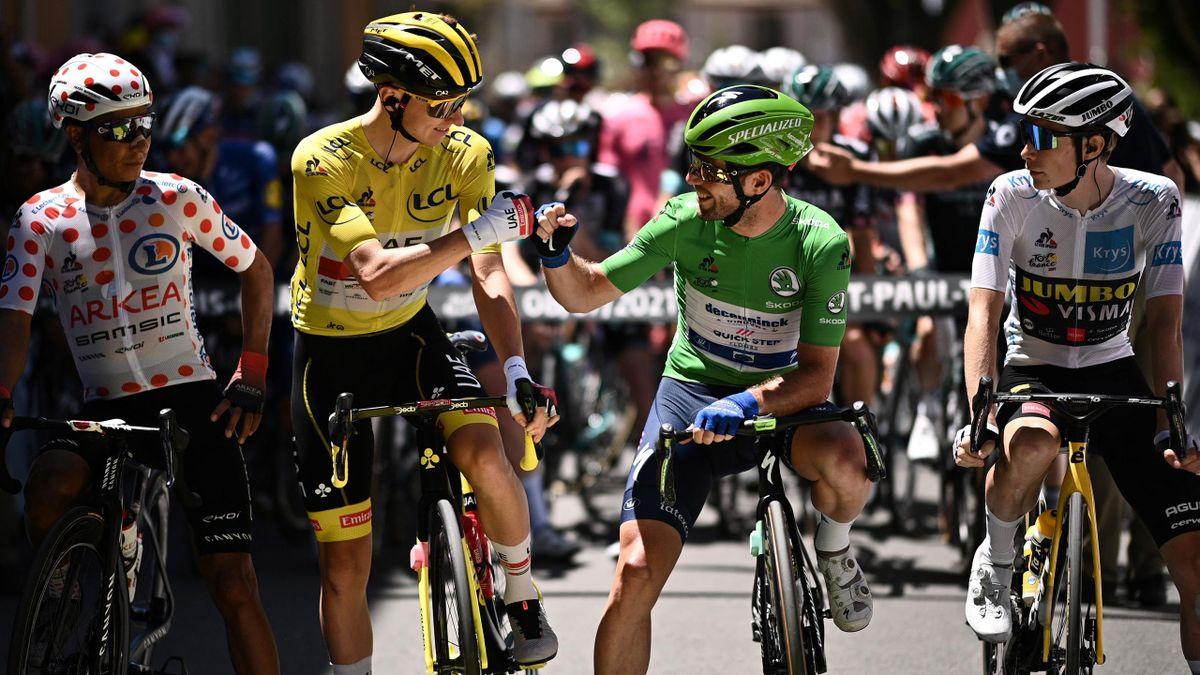 Tadej Pogacar und Mark Cavendish - Tour de France 2021