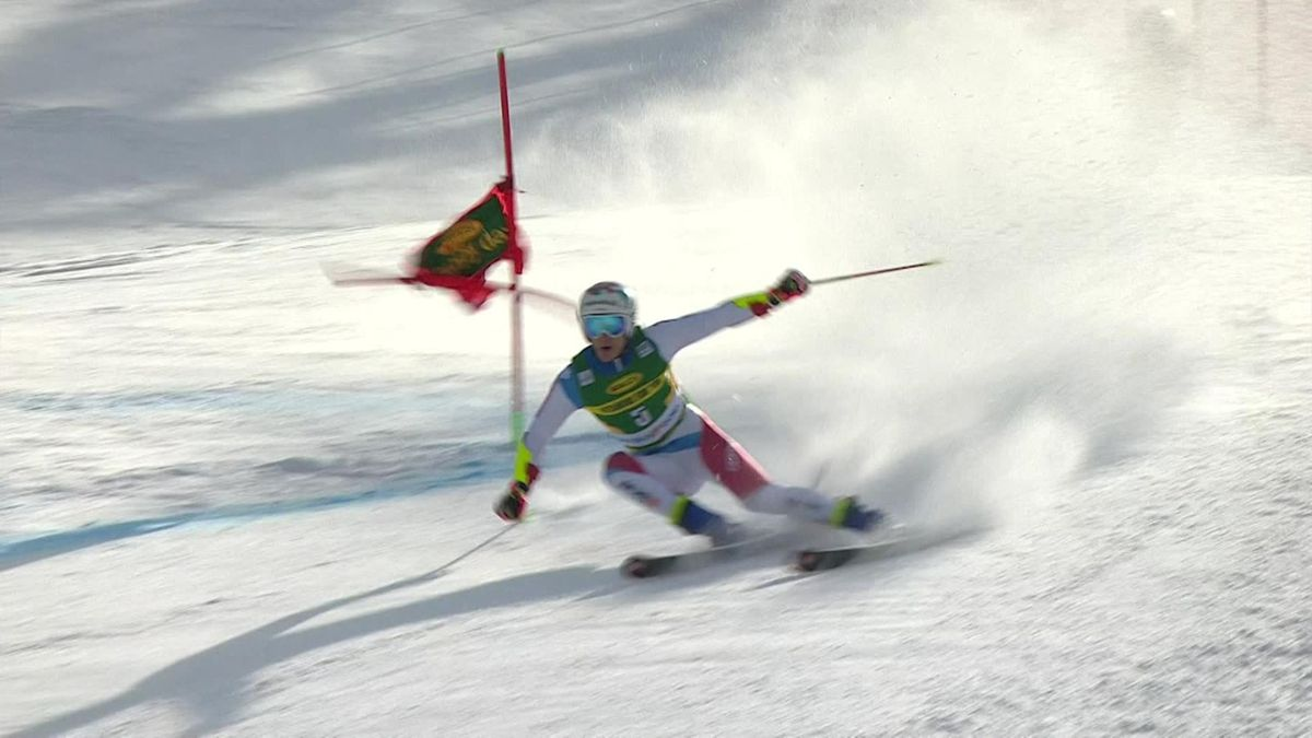 'Not since Hirscher!' - Odermatt 'takes it to the French team' in GS