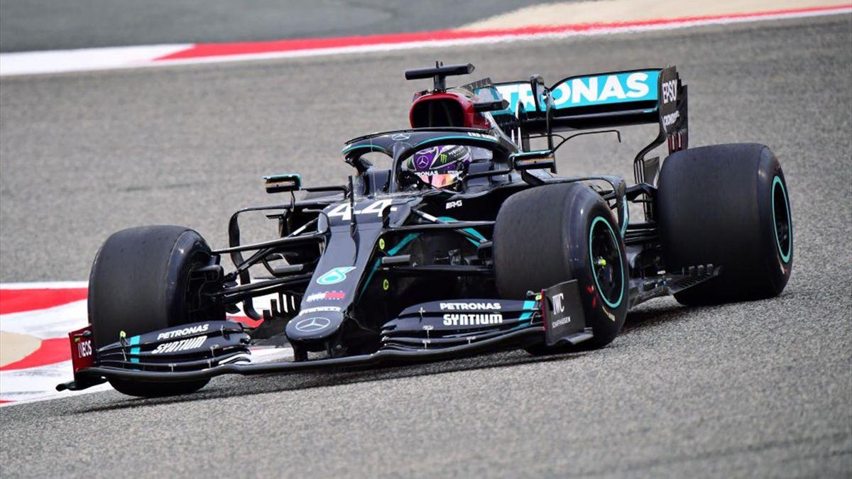 Lewis Hamilton (Mercedes) au Grand Prix de Bahreïn 2020