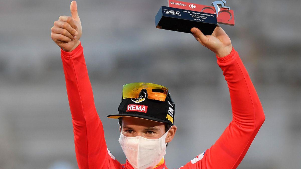 Primoz Roglic, vainqueur de la Vuelta