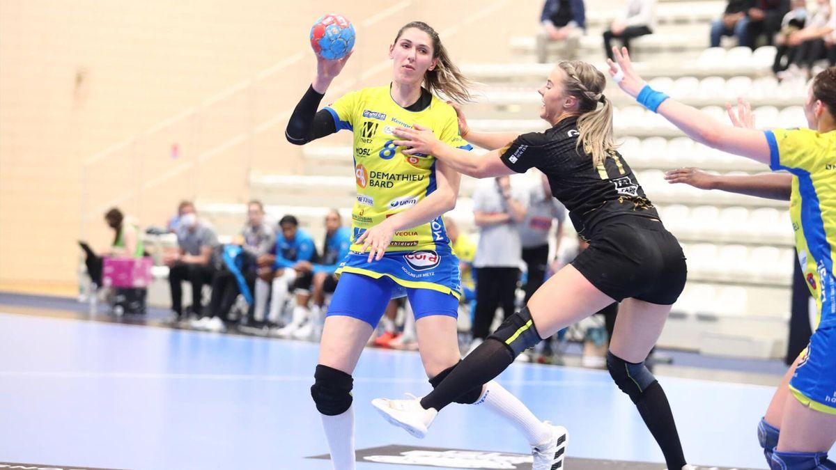 Metz - Paris 92 en Ligue féminine en 2021