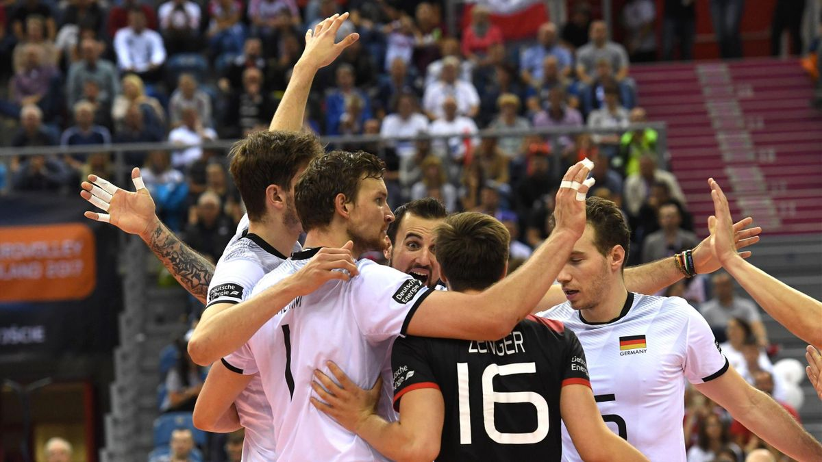 Deutsche Mannschaft feiert Finaleinzug