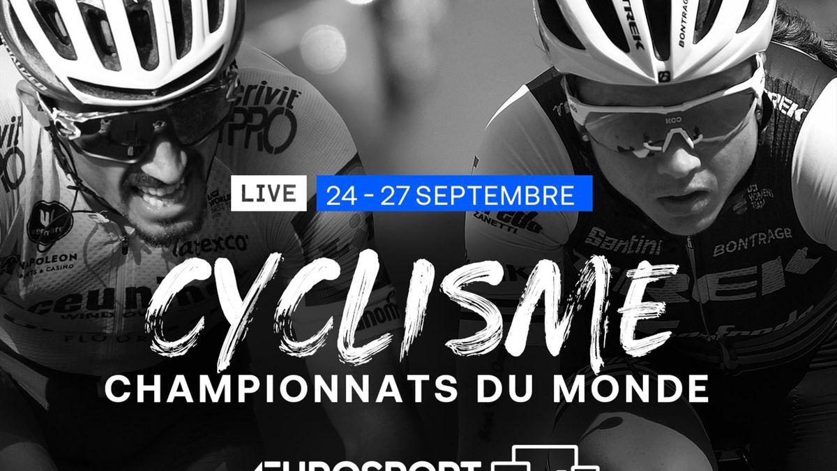 Les Mondiaux de cyclisme sur route seront à suivre sur Eurosport