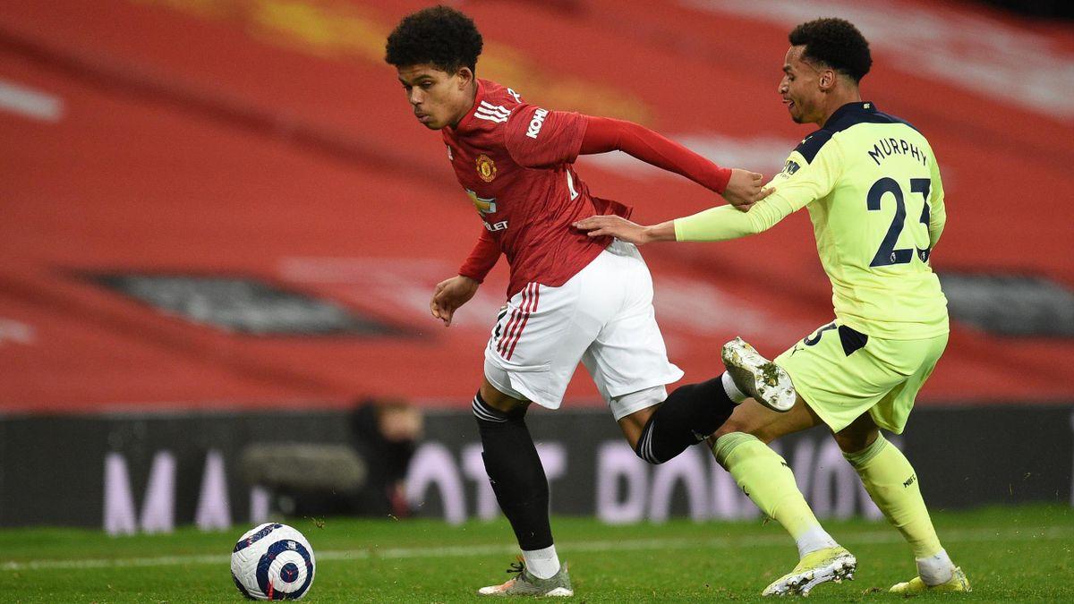 Shola Shoretire a debutat pentru United