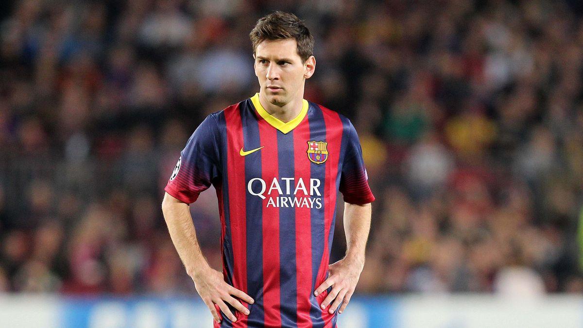 2013-2014 Ligue des Champions FC Barcelone Milan AC Messi