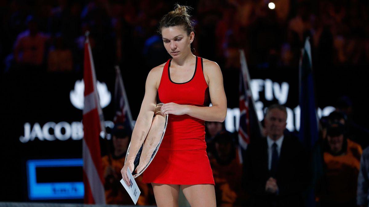 Simona Halep, jucătoarea aflată pe locul 2 mondial