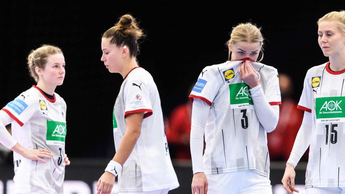 Handball-EM: Frust im deutschen Team