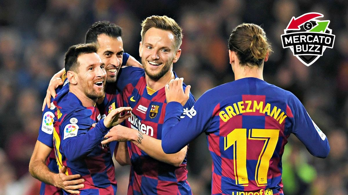 Messi - Busquets - Rakitic - Griezmann / Mercato Buzz