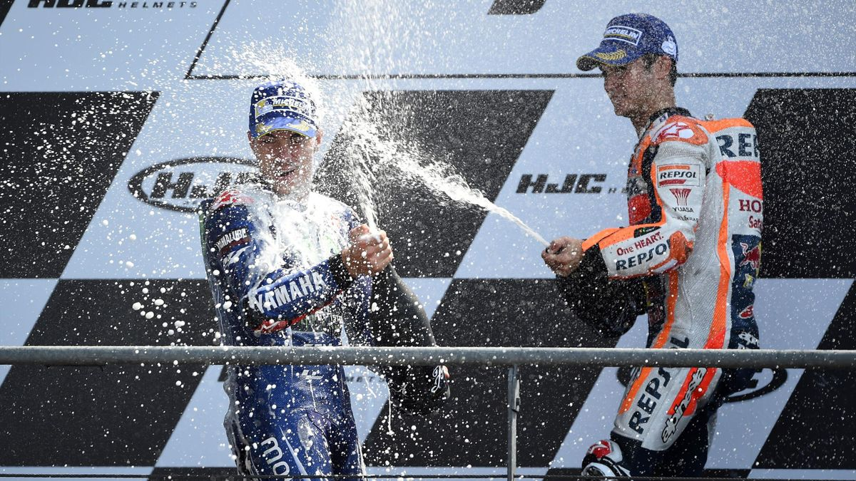Maverick Viñales Dani Pedrosa GP Francia