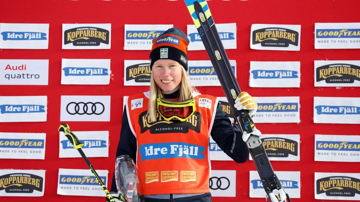 Sweden's Sandra Naeslund