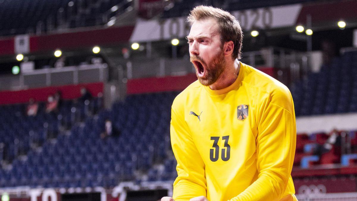 Handball-Nationaltorwart Andreas Wolff