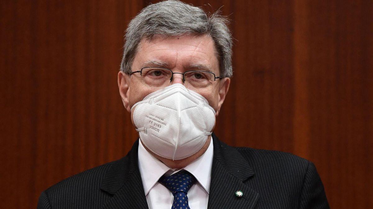 Italias transport- og infrastrukturminister Enrico Giovannini