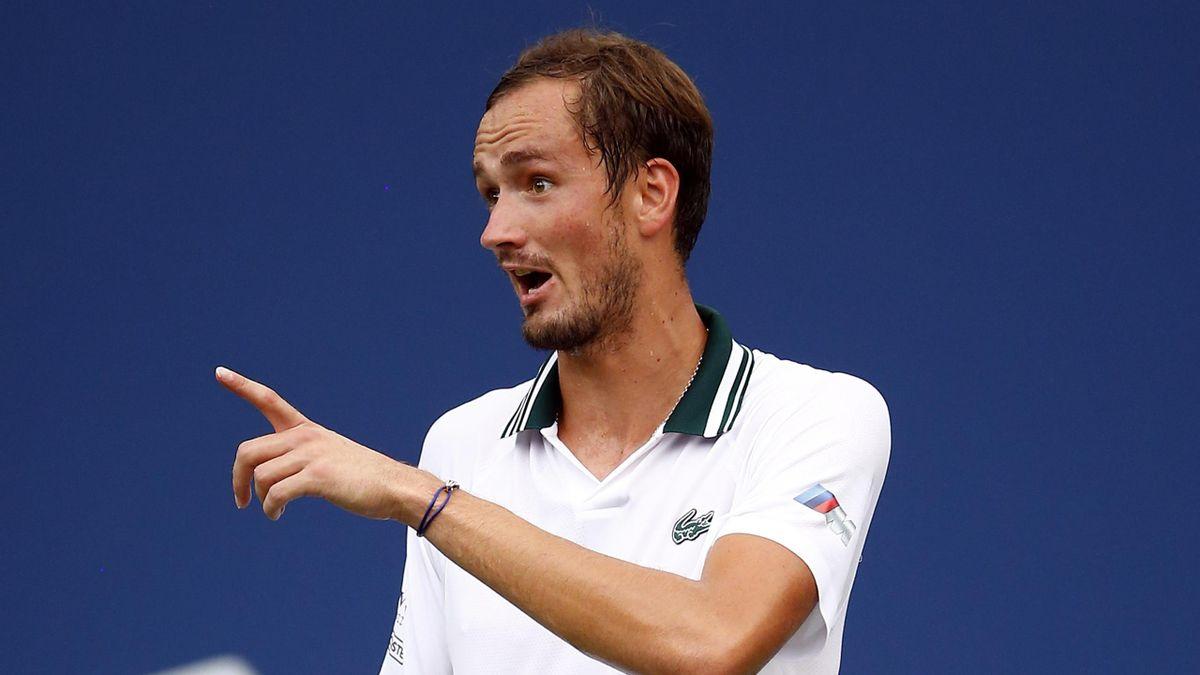 Daniil Medvedev mit offenen Worten in Richtung Roger Federer: