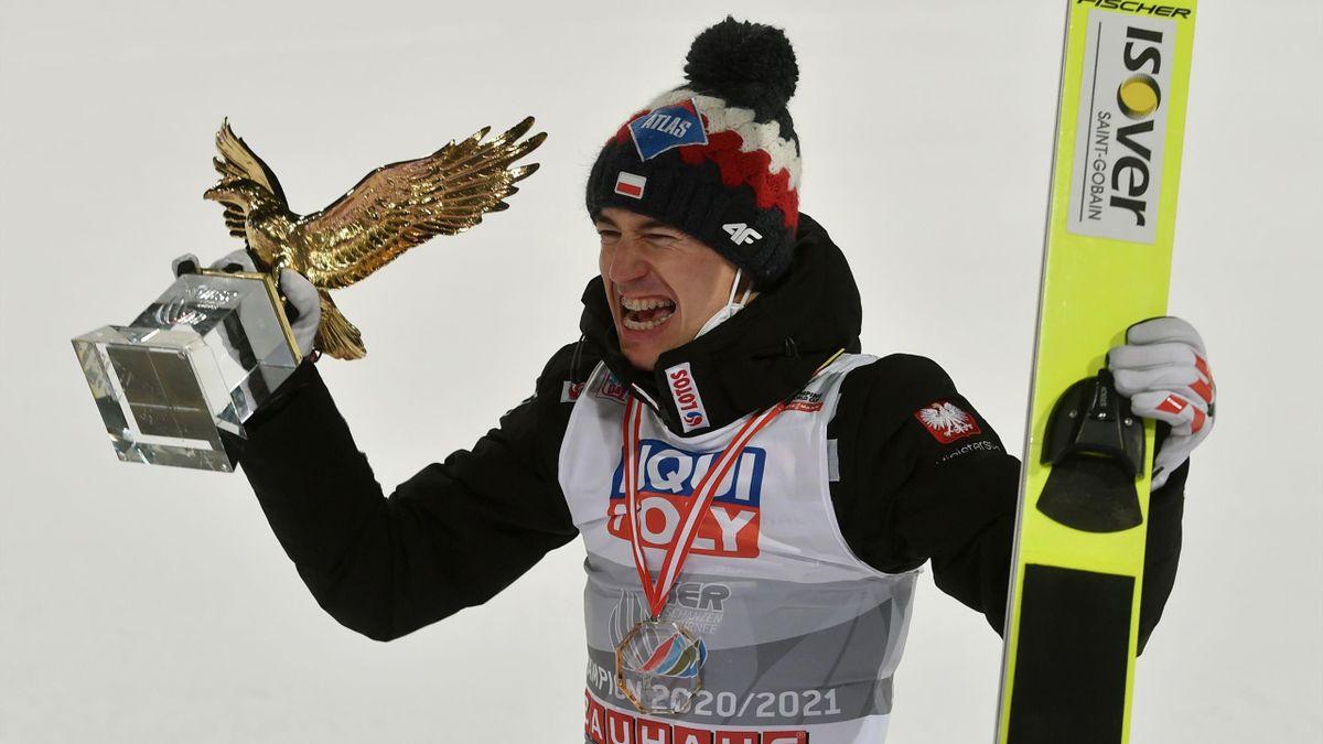 Der Vierschanzentournee-Sieger 2020/21: Kamil Stoch