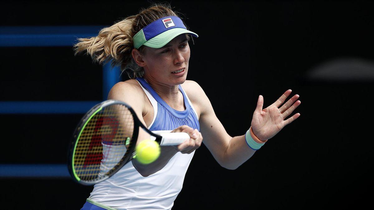 Ekaterina Alexandrova, lauréate du tournoi de Limoges en 2019.